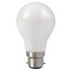 """Ampoule LED Fil. Std. A60 """"milky"""" 4000K 8W 806L B22"""