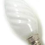 """Ampoule LED Fil. Flamme torsadée """"milky"""" 2700K 2,5W 250L E14"""