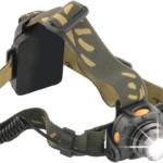 """Lampe frontale LED 3 W 120Lm – Capteur """"mains libres"""" – Zeus"""