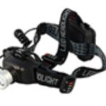 Lumière frontale CREE LED 6 W 400L+ zoom + lumière rouge AR -IP44