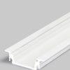 Profilé LED GROOVE10 /1m alu laqué blanc (BC/UX)