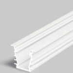 Profilé LED DEEP10 /1m alu laqué blanc (BC/UX)