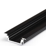 Profilé LED GROOVE14 /1m alu anodisé noir (EF/Y)