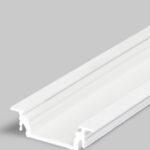 Profilé LED GROOVE14 /1m alu laqué blanc (EF/Y)