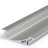 Profilé LED FLAT8 / 1m alu anodisé (H/UX)