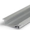 Profilé LED FLAT8 /1m alu brut (H/UX)