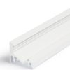 Profilé aluminium finition blanche forme Corner 10 de 1 mètre compatible avec les diffuseurs série BC ou UX