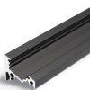 Profilé LED CORNER10 /1m alu anodisé noir (BC/UX)