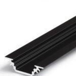Profilé LED TRIO10 /1m alu anodisé noir (BC/-)