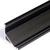 Profilé LED CABI12 /1m alu anodisé noir(E/-)