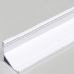 Profilé LED CABI12 /1m alu laqué blanc(E/-)
