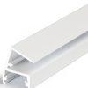 Profilé LED EDGE10 /1m alu laqué blanc (ABC/-)