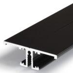 Profilé LED BACK10 /1m alu anodisé noir (A/UX)