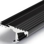Profilé LED STEP10 /1m alu anodisé noir (C/-)