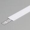 Diffuseur plat B /2mx15,4mm opale