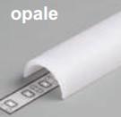 Diffuseur clips D /2mx19,4mm opale