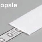 Diffuseur plat G /1mx29,5mm opale