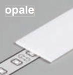 Diffuseur plat H /1mx15,4mm opale