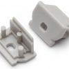 Terminaison UNI12 gris + passage de câble (set de 2)