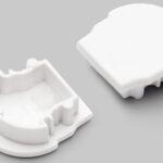 Terminaison UNI12 D blanc (set de 2)