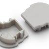 Terminaison UNI12 D gris (set de 2)