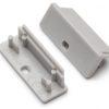 Terminaison WIDE24 gris + passage de câble (set de 2)