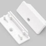 Terminaison WIDE24 blanc + passage de câble (set de 2)