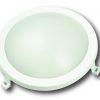 Hublot rond LED intégrée 12W 840Lm étanche IP54 4000K blanc neutre