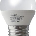 Ampoule LED Mini-sphérique 5W E27 470Lm 2700K blanc chaud