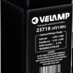 Batterie rechargeable au plomb 4V 1Ah