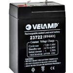 Batterie rechargeable au plomb 6V 4 Ah