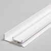 Profilé LED AMBI12 /110mm alu laqué blanc (C/-)