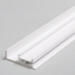 Profilé LED AMBI12 /575mm alu laqué blanc (C/-)