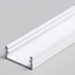 Profilé LED BEGTON12 /1m alu laqué blanc (J/S)