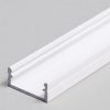 Profilé LED BEGTON12 /2m alu laqué blanc (J/S)