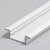 Profilé LED BEGTIN12 /2m alu laqué blanc (J/S)