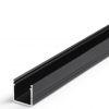 Profilé LED SMART-IN10 / 1m alu anodisé noir (A/Z)
