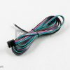 LED RGB cable 4×0,5 L-50 with MIKRO4 socket
