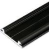 Profilé LED ARC12 /1m alu laqué noir (CD/U5)