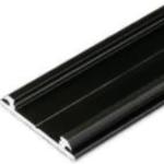 Profilé LED ARC12 /2m alu laqué noir (CD/U5)