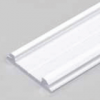 Profilé LED ARC12 /1m alu laqué blanc (CD/U5)