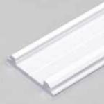 Profilé LED ARC12 /2m alu laqué blanc (CD/U5)