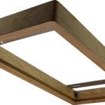 Cadre en bois 300×600 pour panel- Frêne