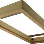 Cadre en bois 300×600 pour panel – Chêne clair