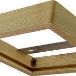 Cadre en bois 300×300 pour panel – Frêne