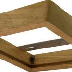 Cadre en bois 300×300 pour panel – Chêne clair
