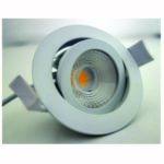 Downlight IP65 orientable 0/30°Ø80 – 4000K IRC90 815L 8 W