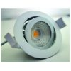 Downlight IP65 orientable 0/30° Ø80 – 4000K IRC90 815L 8 W dim.