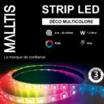 Strip LED RGB+W 19.2 W SMD5050 24V 5m IP65