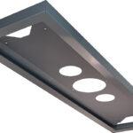 Cadre métal pour panel LED 30×120 époxy gris